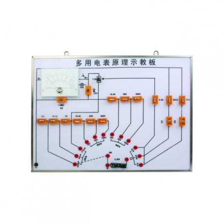 Demonštrátor princípu merania multifunkčných Watt hodín