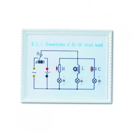RLC demonštrátor AC/DC obvodovej dosky