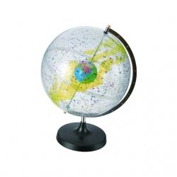 Priesvitný astronomický glóbus