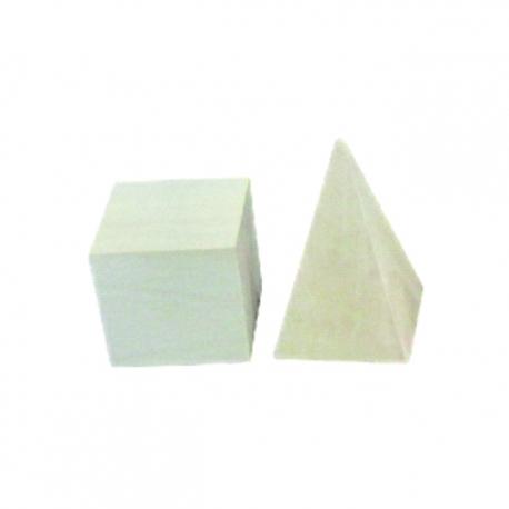 Drevený set geometrických útvarov