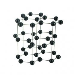 Model uhlíka