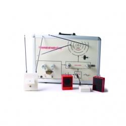 Demonštrácia prenosu a prijímania elektromagnetických vĺn