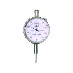 Mikrometrické meradlo, kovový číselník
