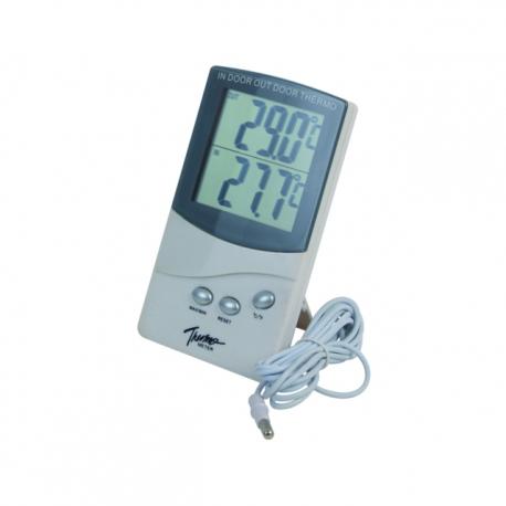 Vnútorný-Vonkajší Termometer