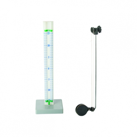 Mini-manometer so základňou