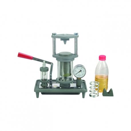 Model znázornujúci hydrostatický tlak